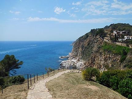 Chemin jusqu'à la mer