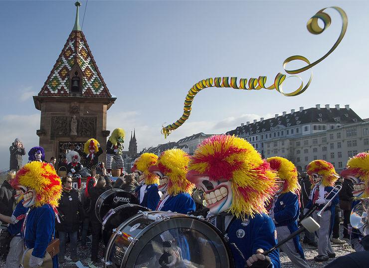 Carnaval de Bâle, Suisse