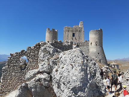 Château du film Ladyhawke en Italie