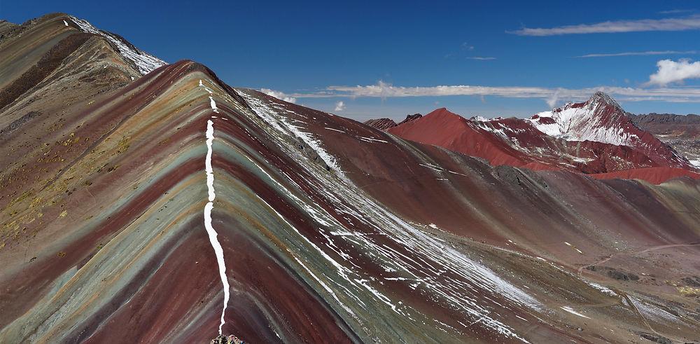 Trek de l'Ausangate. Vinicunca, splendide montagne colorée