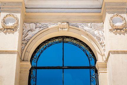 Alger - Théâtre National - Détail façade