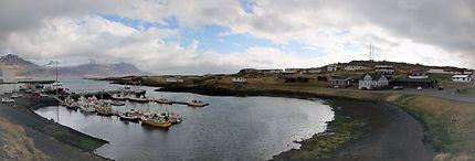 Djúpivogur, port de pêche en Islande