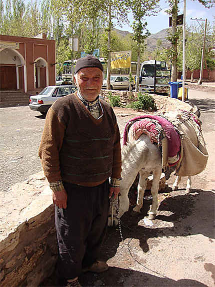 Homme d'Abyaneh