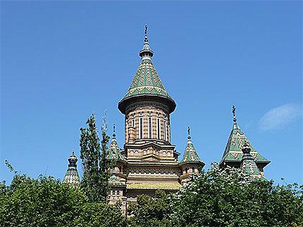 Toits vernissés de la Cathédrale orthodoxe