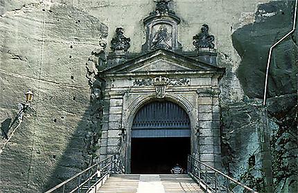 Le pont-levis de la forteresse de Königstein