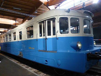 Le train ZZE, Mulhouse