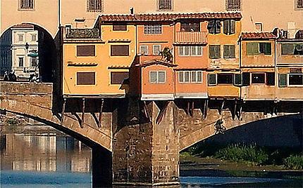 Rencontre sur le Ponte Vecchio
