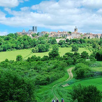 Vue sur Vezelay
