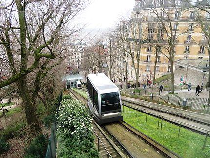 Le funiculaire de la butte Montmartre