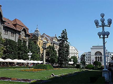 Place de la Victoire et Opéra