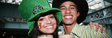 La Saint-Patrick dans le monde