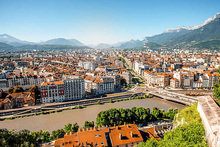 Grenoble : trek urbain au pied des Alpes