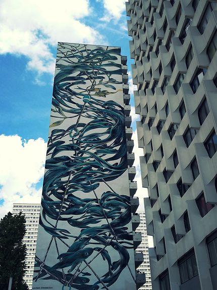 Street Art dans le quartier chinois