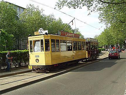 Tram du Musée avec baladeuse