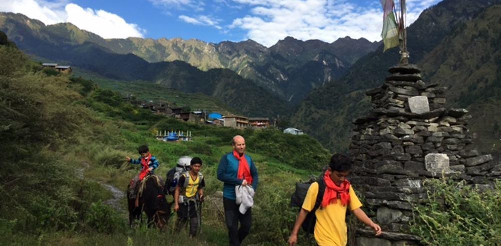 Retour de Trek (Tamang Heritage Trail) au Népal avec enfant 4 ans et cheval