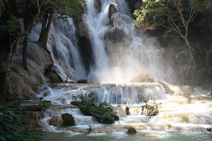 Tout près de la cascade de Tad Kouang Si, Laos