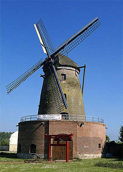 Moulin à vent, St-Amand-les-Eaux