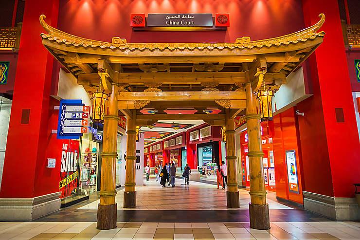 2e jour : de malls en complexes hôteliers