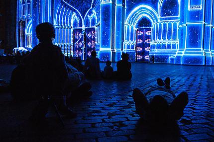 Le spectacle Lumières de Sens