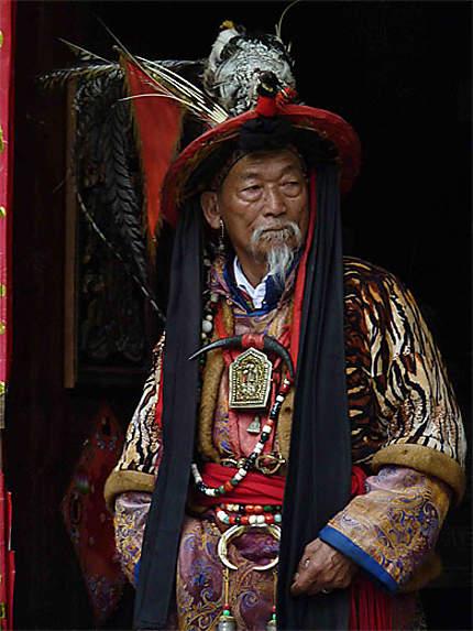 Vieux Chaman (plus de 80 ans)