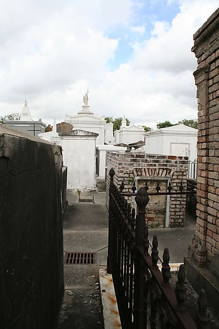 Parmi les tombes