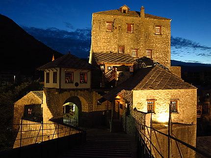 Sur le pont... de Mostar