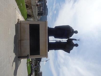 Statue de Cyrille et Methode