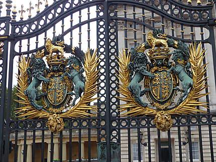 Portail du Buckingham Palace