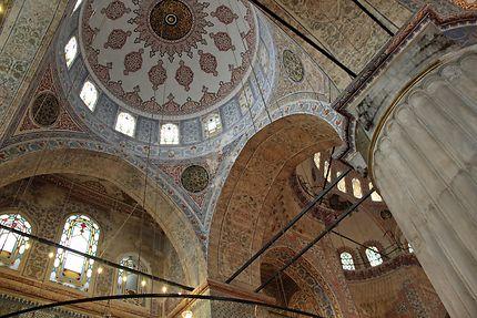 Architecture de la Mosquée Bleue