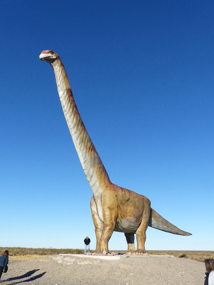 Le dinosaure de Trelew, Patagonie argentine