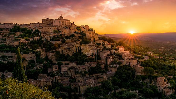 Petit matin à Gordes, Provence