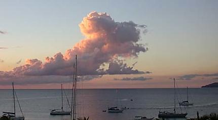 Fin de journée aux Antilles