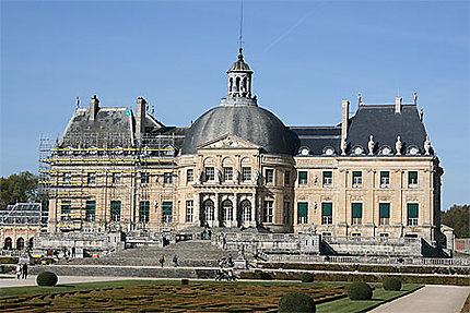 Château en rénovation