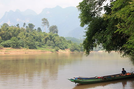 Rivière Nam Ou, Laos