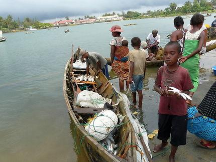 Retour de pêche à Manakara