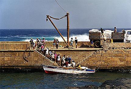 Ile de Santo Antao. Port de Ponta Do Sol.