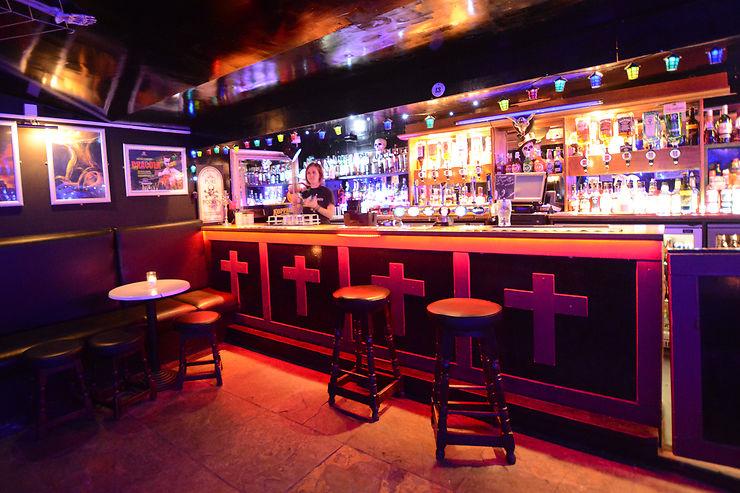Tournée des pubs hantés à Édimbourg