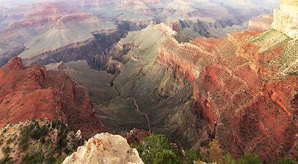 Palette de couleurs dans le Colorado