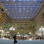 Intérieur de l'aéroport d'Orlando
