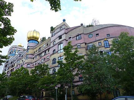 Architecture de Frédérik Hundertwasser