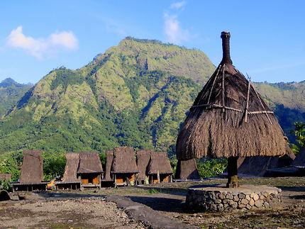 Le village de Gurusina , Flores