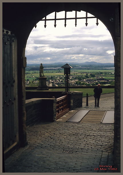 Entrée du chateau de Stirling