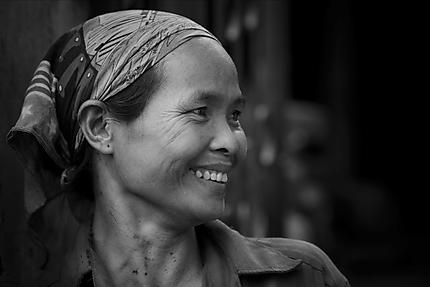 Ouvrière de Bat Trang
