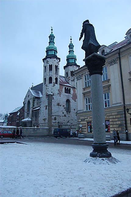 La place Sainte-Marie-Madeleine