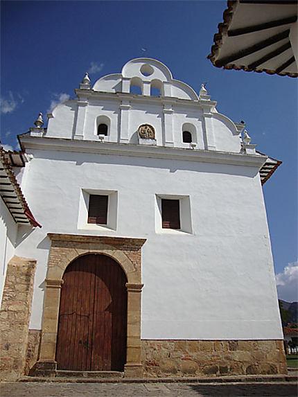 Façade de l'église de Nuestra Señora del Carmen