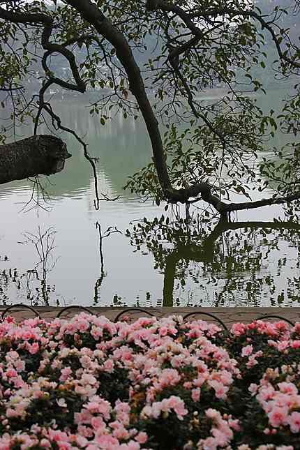 Lac de l'épée restituée