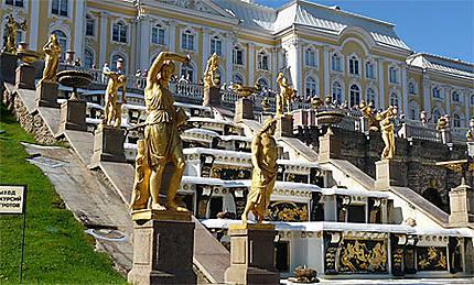 L'Olympe à Peterhof