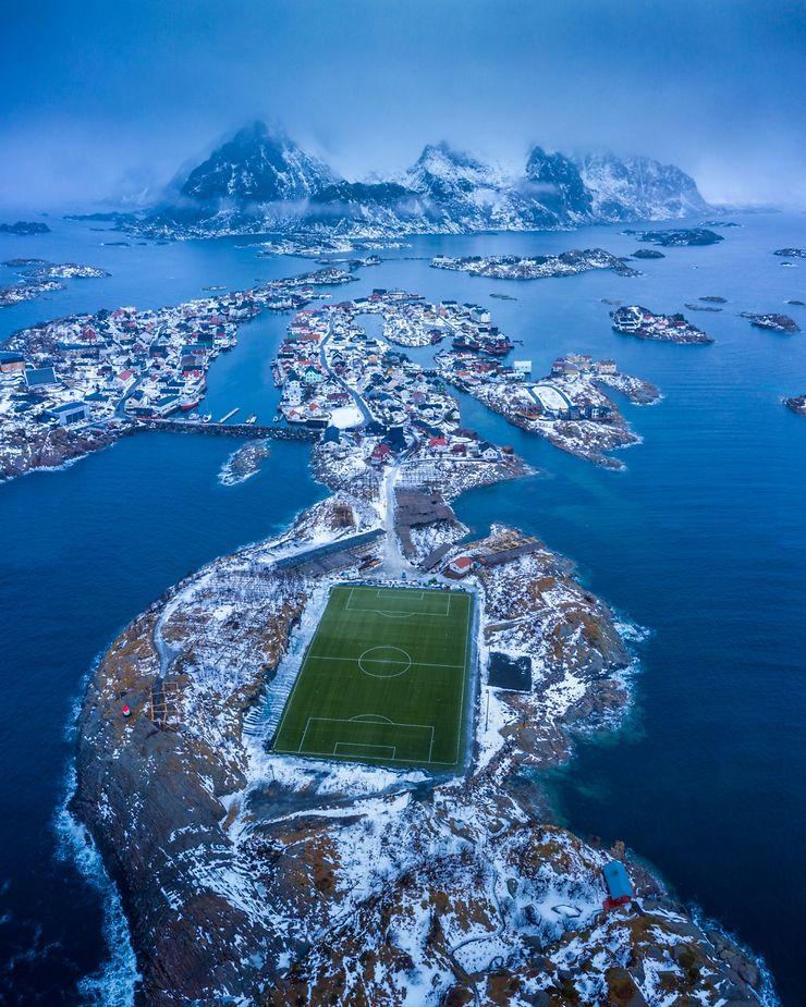 Henningsvær, Lofoten, Norvège