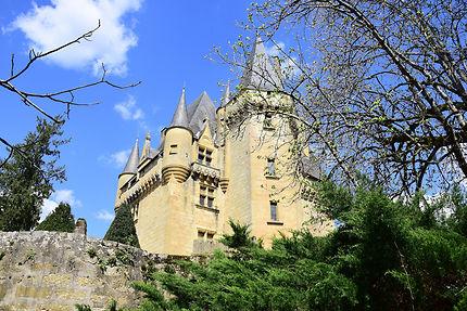 Le château de Saint Léon-sur -Vézère