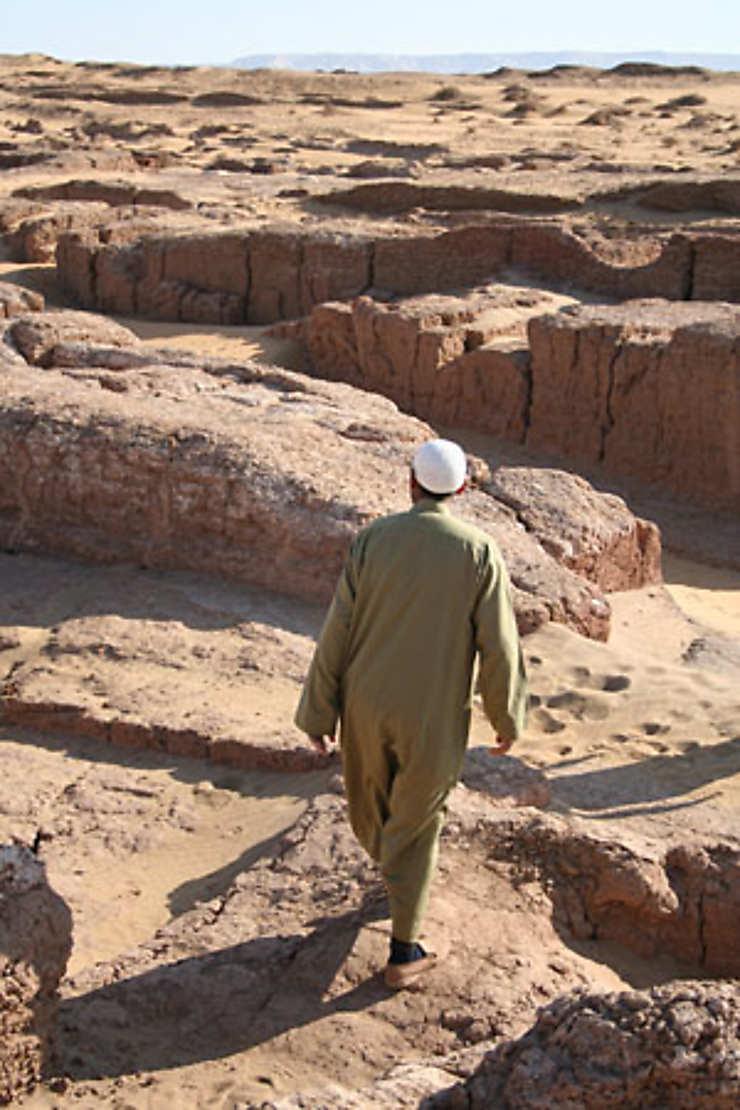 Dakhla et la cité d'El-Qasr